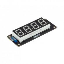 LED Дисплей  зеленый TM1637 для часов