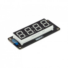 LED Дисплей  желтый TM1637 для часов