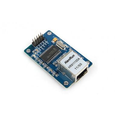 ENC28J60 Ethernet Плата для подключения микроконтроллеров к Ethernet сети