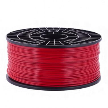 ABS пластик для 3д принтера 1.75 мм красный 1 кг