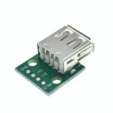 Разъем USB на плате